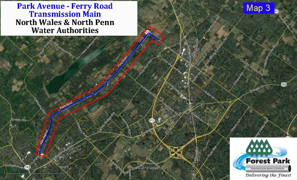 Detour Map N0 3